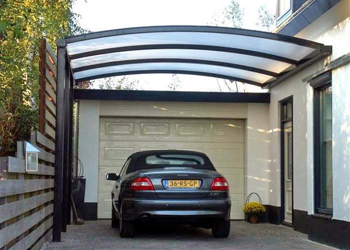Gambar Garasi Mobil Rumah Mungil Minimalis