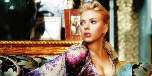 Scarlett Johansson con el pelo corto