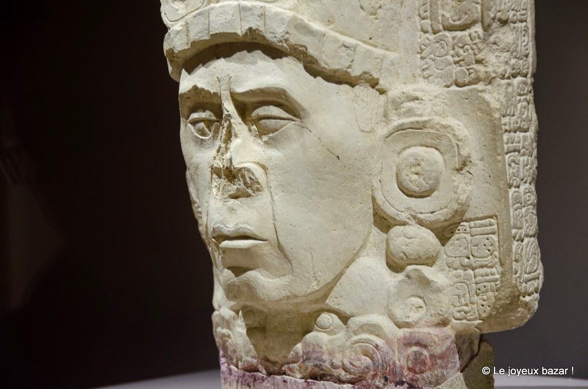 Quai Branly - exposition Mayas révélation d'un temps sans fin