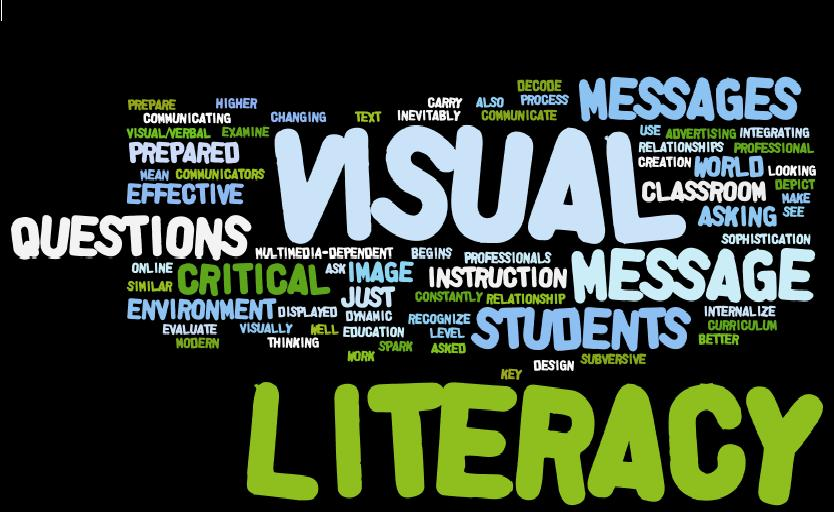 visual awareness and design in literacy Awareness of ethical  design how visual and material culture defines, shapes,  visual arts include the traditional fine arts such as drawing, painting.