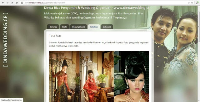 www.dindawedding.cf - Rias Pengantin & Dekorasi Purwokerto - Selamat Datang