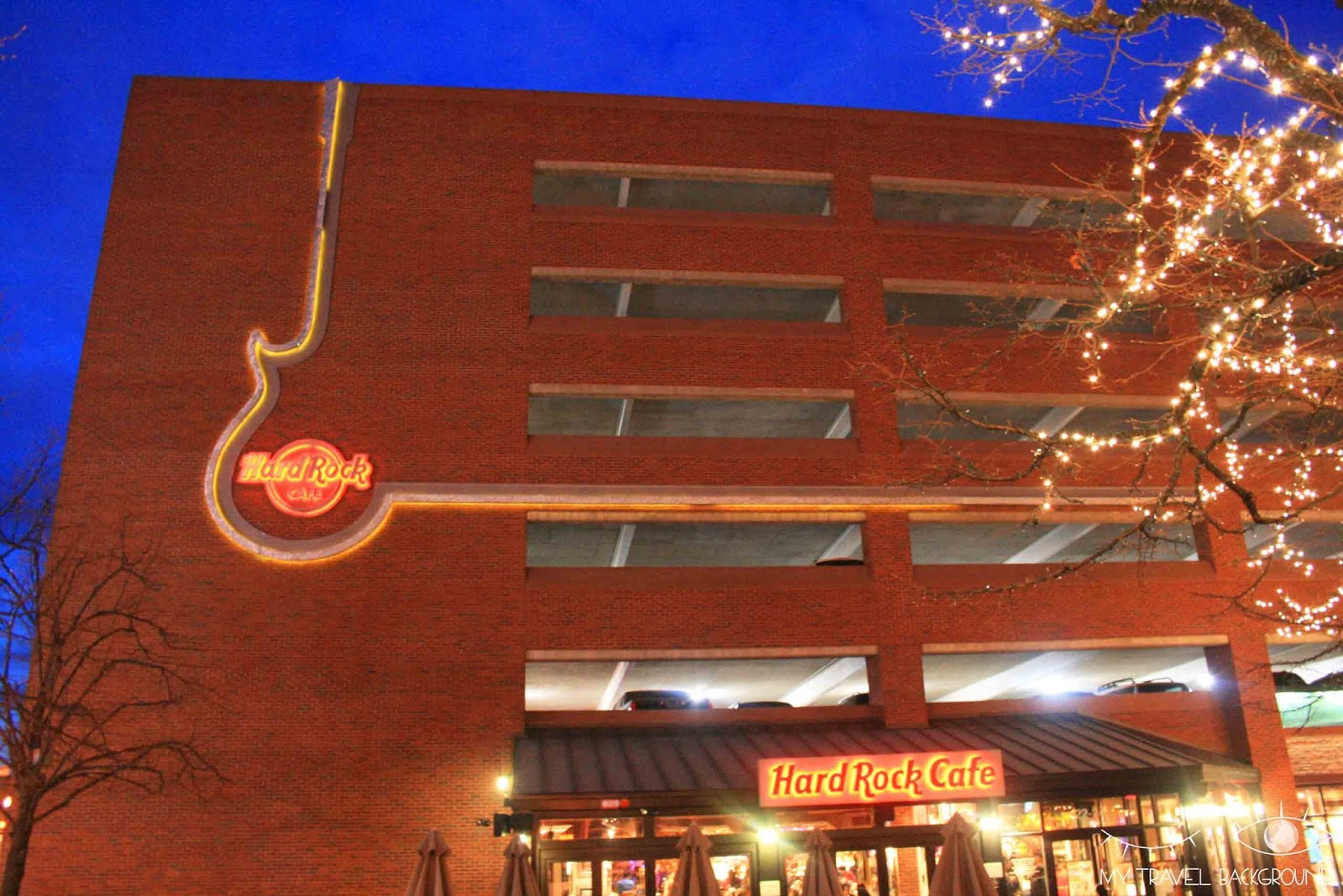 My Travel Background : Hard Rock Cafe Boston