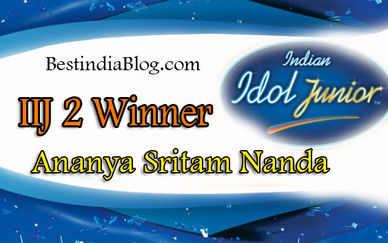 Indian Idol Junior 2 winner
