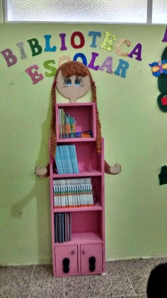 TIPS DE ACTIVIDADES PARA TU GRUPO ESCOLAR Mueble de biblioteca de