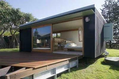 Casa prefabricada en australia por donovan casa minimalista for Casas prefabricadas modernas
