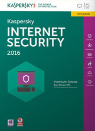 Kaspersky Internet Security 2016 Cover