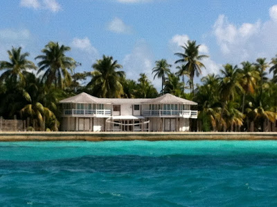 Ringo Starr's House still on Rendezvous Island, Placencia Belize - McKinley Pritchard