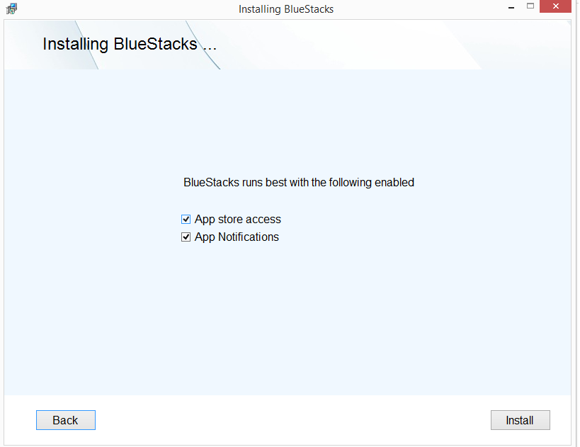 Get Notified from BlueStacks