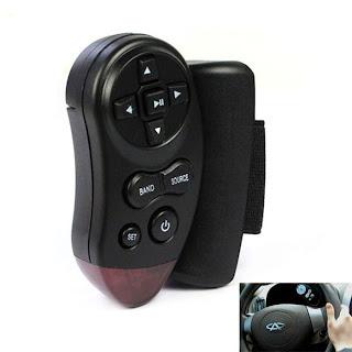 Popular Universal Steering Wheel IR Remote Control for Car Handsfree DVD TV MP3