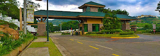 Main Gate of Timberland Heights Quezon City Environs