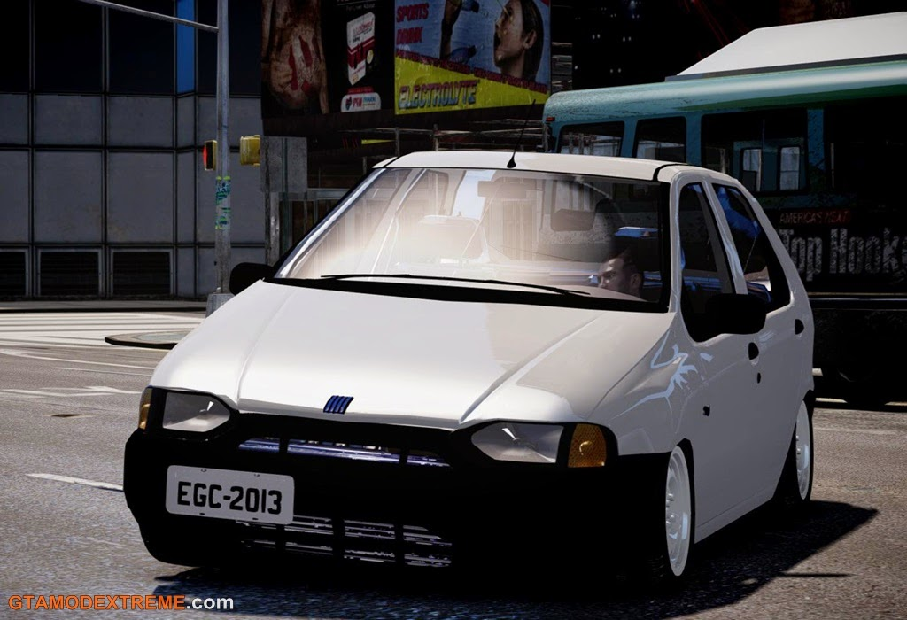 Download carro Fiat Palio EDX 1997 Para GTA IV