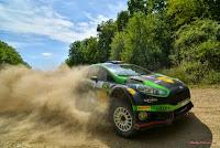 Simone Tempestini si Dorin Pulpea - Ford Fiesta R5 - Raliul Aradului 2015