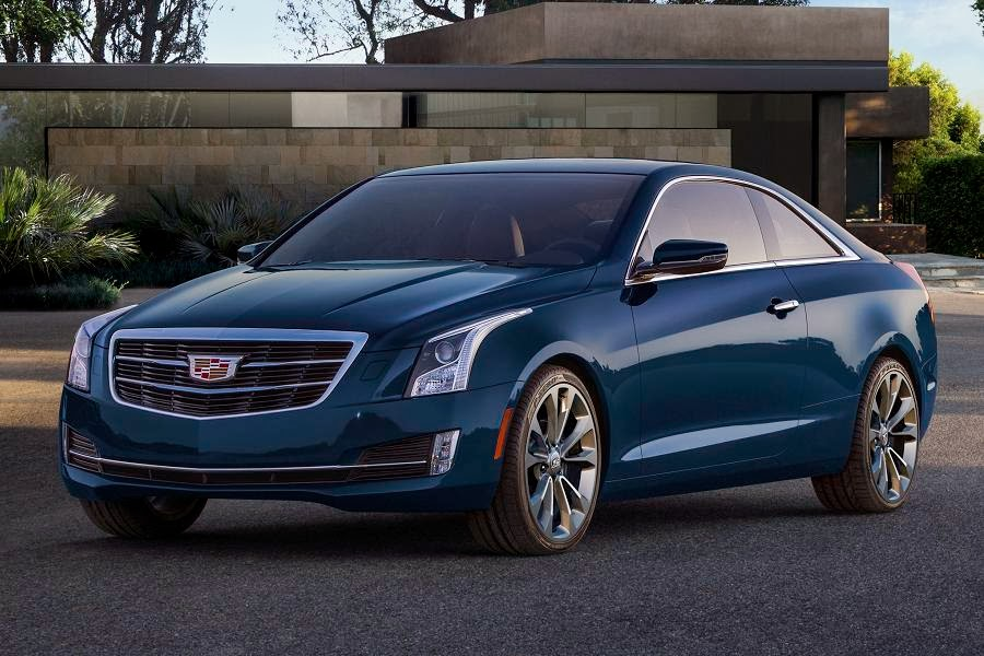 Cadillac ATS Coupe (2015) Front Side