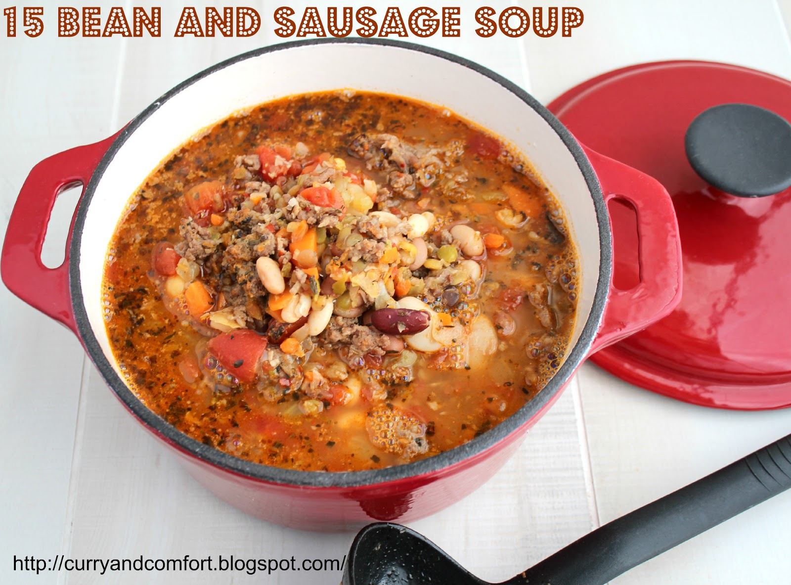 Kitchen Simmer: 15 Bean and Sausage Soup