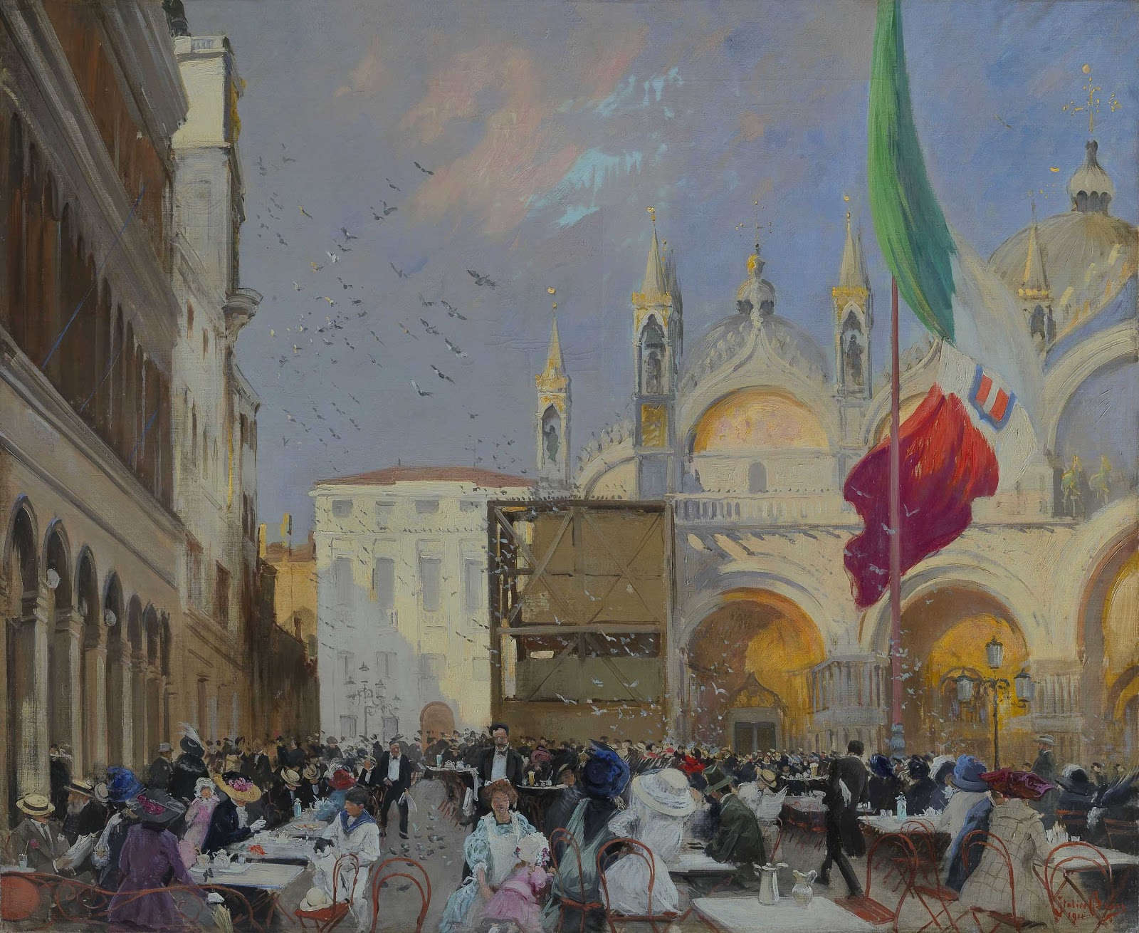 Italico  rass Caff C A Lavena in piazza San Marco in Venice