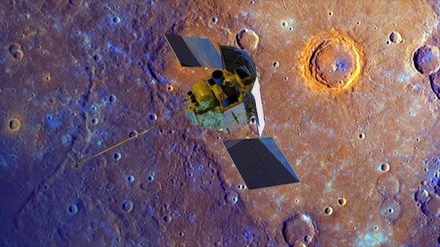 Messenger 'Bunuh Diri' Menabrakkan Diri ke Merkurius