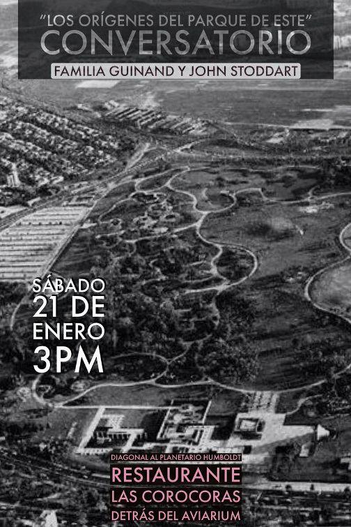 Conversatorio: Los origenes del Parque del Este, @LasCorocoras
