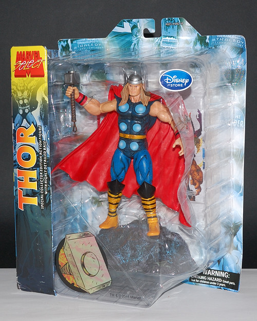 Marvel Select Thor Disney Store Exclusive Diamond Select 7 inch scale loose