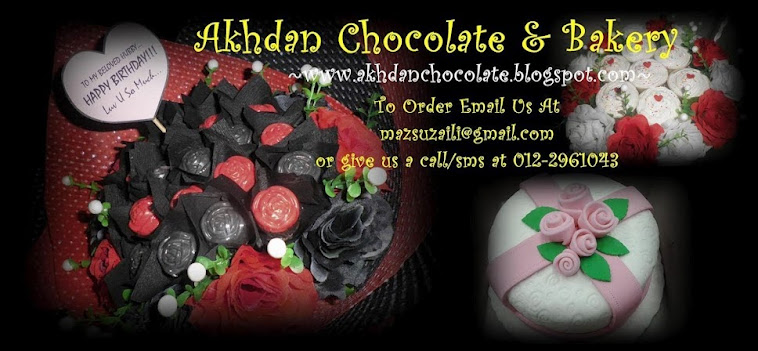 My Chocolate Lane...Akhdan Chocolate And Bakery