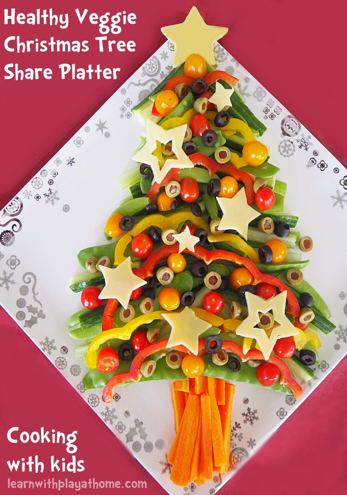 Learn with Play at Home: Healthy Veggie Christmas Tree Share ...