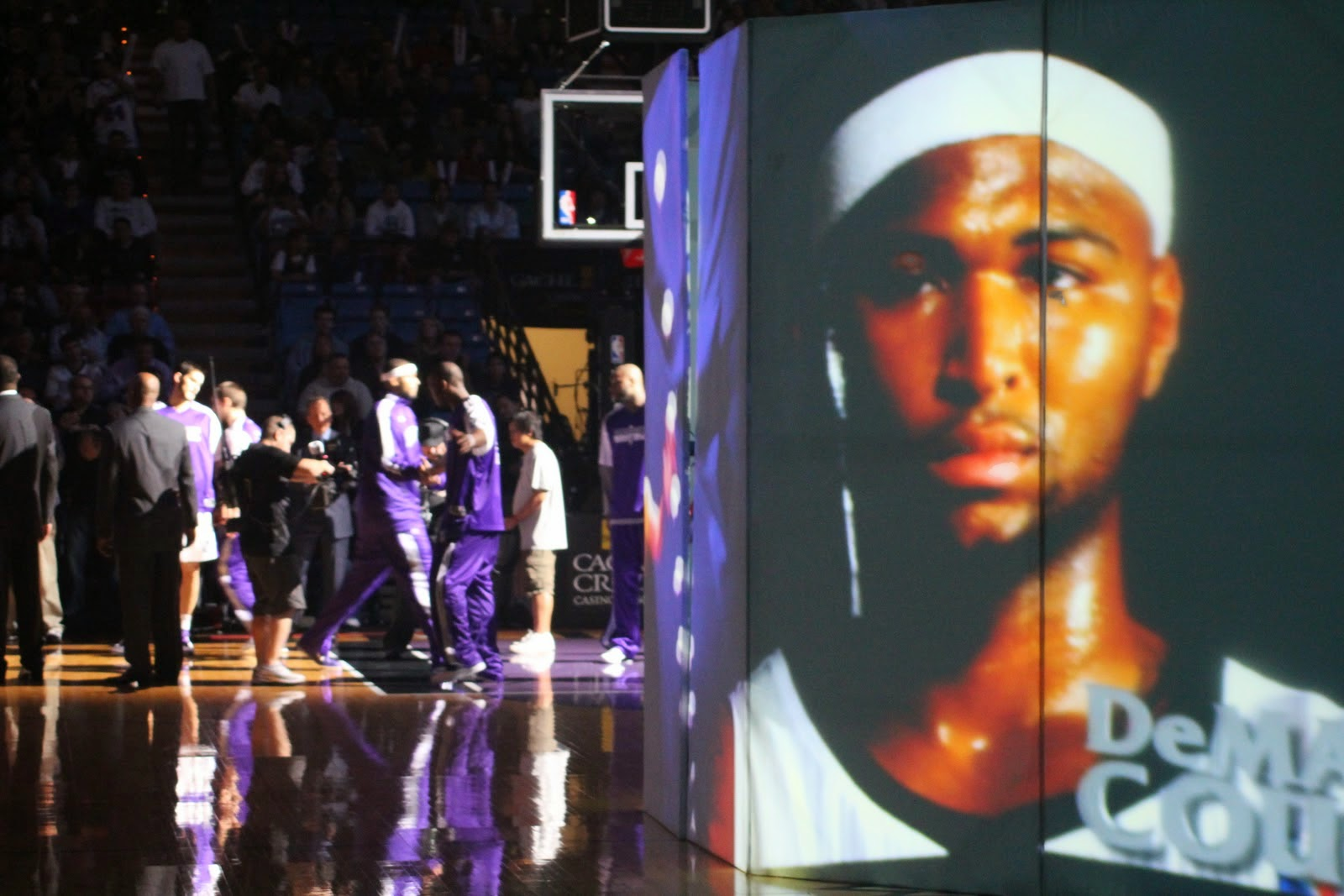 DeMarcus Cousins and his mistaken identity