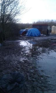 گزارشی از وضعیت پناهجویان در دو کمپ در نواحی مرزی شمال غرب فرانسه
