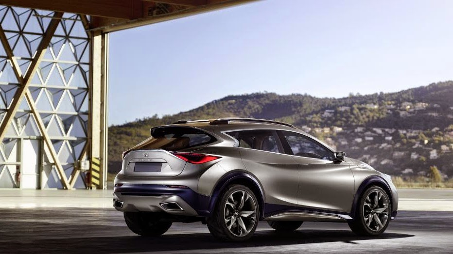 infiniti fully reveals qx30 concept crossover car reviews new car pictures for 2018 2019. Black Bedroom Furniture Sets. Home Design Ideas