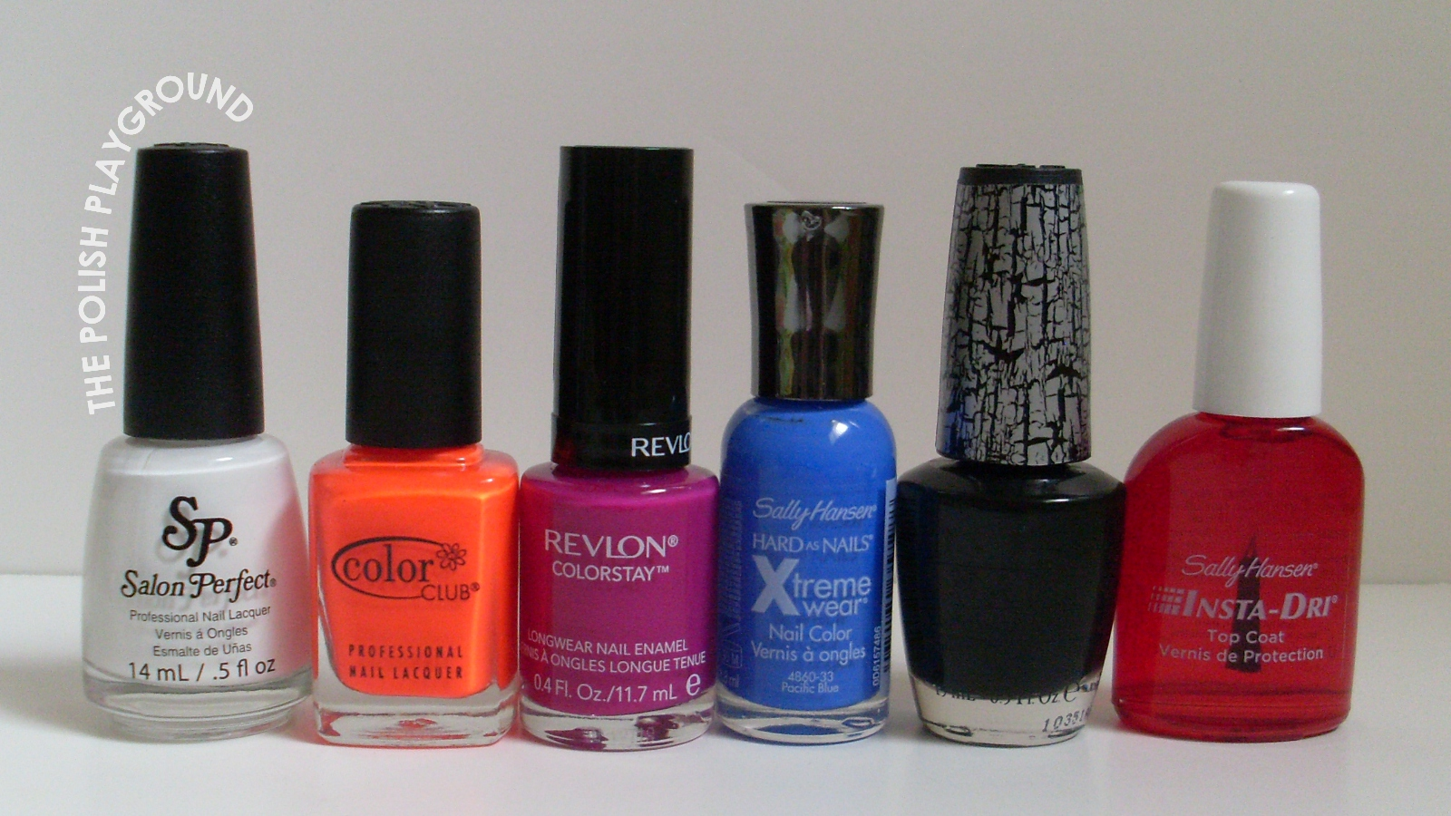 Salon Perfect, Color Club, Revlon, Sally Hansen, OPI