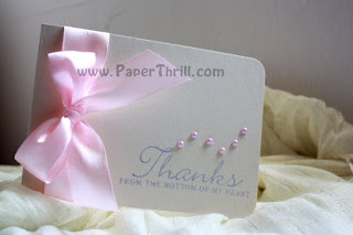 Dainty daisy thank-you cards