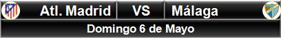 Atlético Madrid vs Málaga