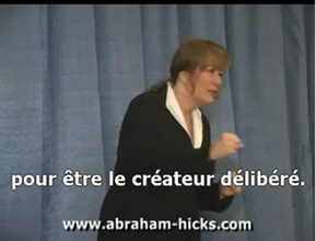 Abraham hicks en francais loi attraction
