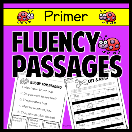 Fluency Passages - Primer