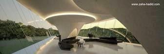 Una villa futurista de Zaha Hadid