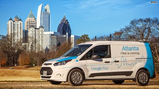 Google Fiber Atlanta Charlotte Nashville Raleigh Durham