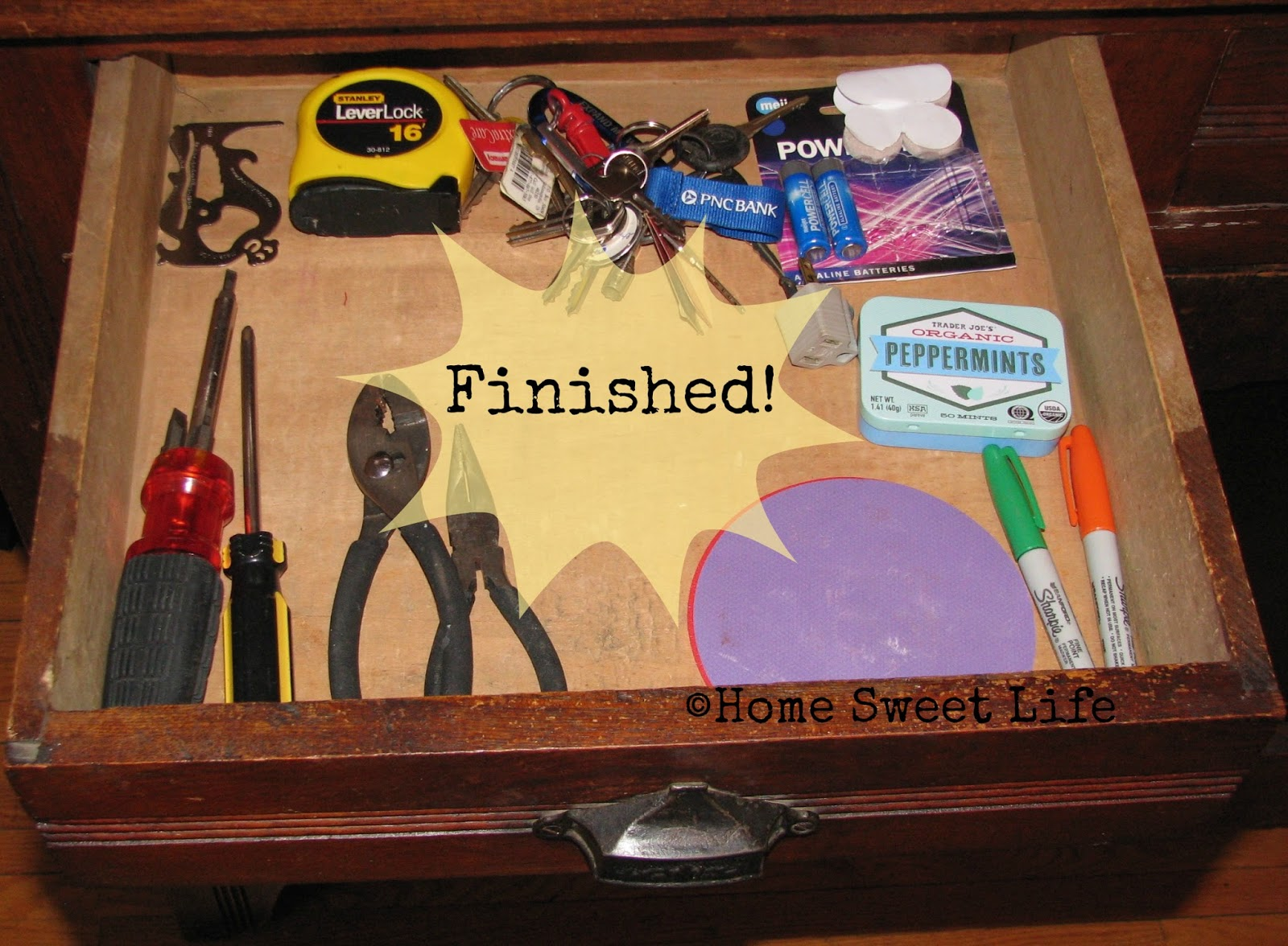 No more junk drawer