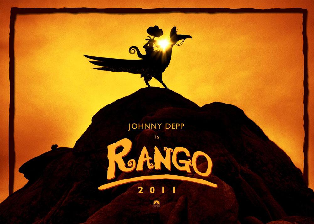 the geeky nerfherder movie poster art rango 2011