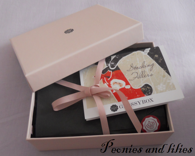 Glossybox, Glossybox discount code, Glossybox november 2012, Glossybox stocking fillers, Alison Claire natural beauty mango body butter, Nails Inc Notting Hill Gate, Crabtree & Evelyn himalayan blue hand therapy, Dermologica daily microfoliant, Monu firming moisturiser, Glossybox review