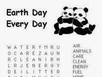 Earth Day Word Search Printable Hard
