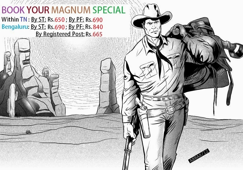 BOOK YOUR MAGNUM SPECIAL !!
