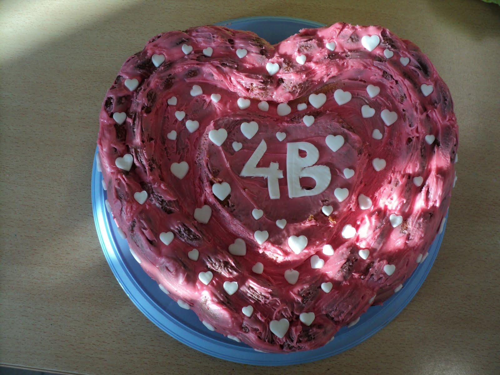 Taart voor Valentijn!!!