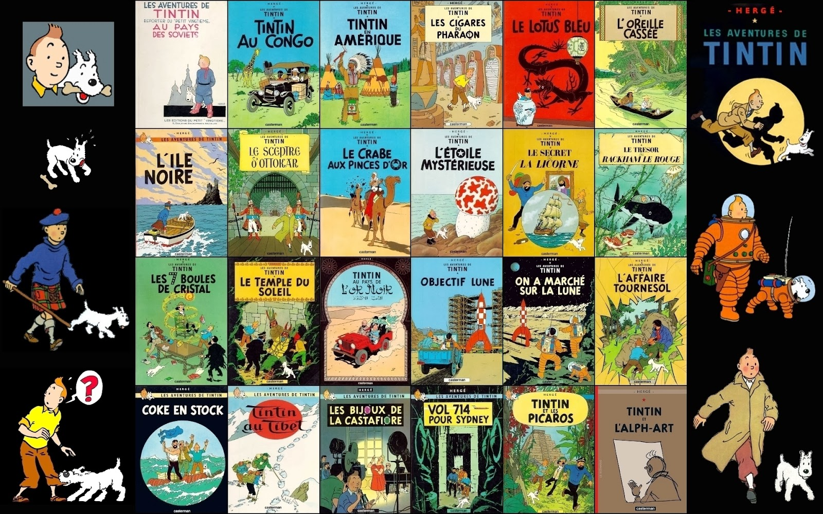 The New Cinema: THE ADVENTURES OF TINTIN TV SERIES AND MOVIE COLLECTION