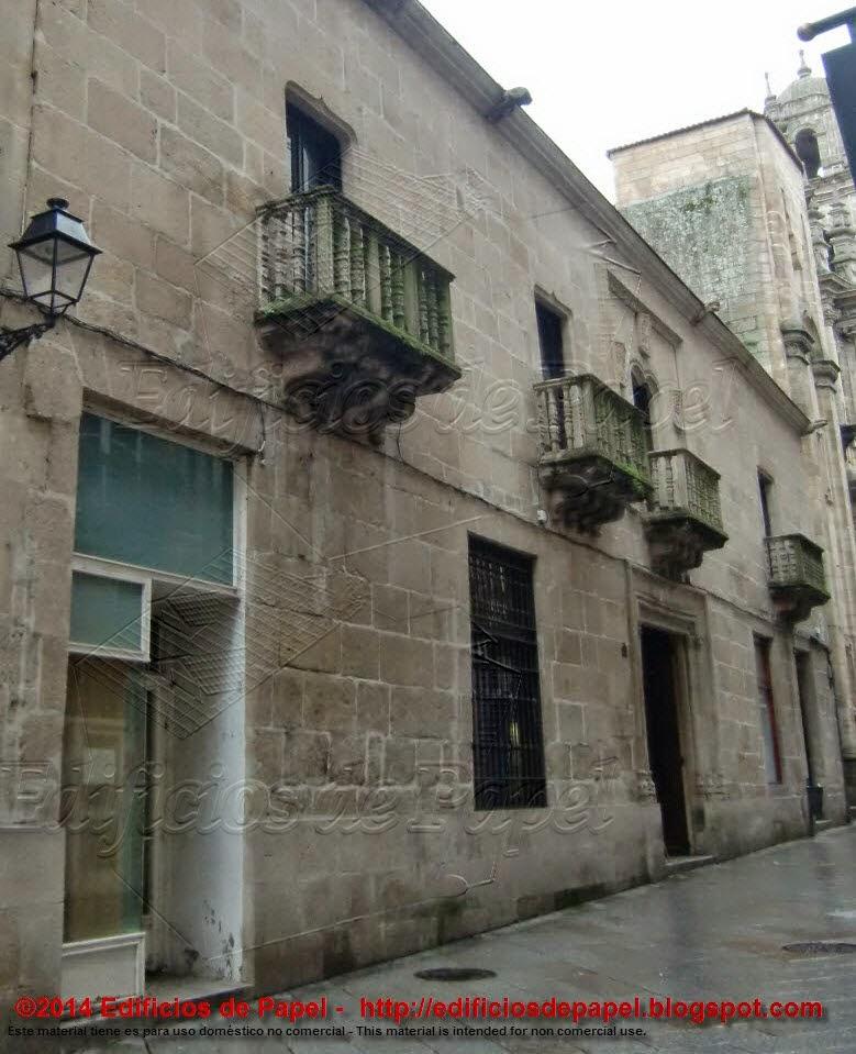 Pazo de los Oca, actual Liceo orensano