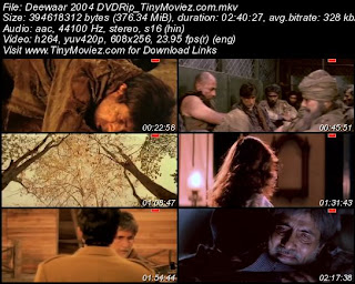 Deewaar: Let's Bring Our Heroes Home 2004 DVDRip 400MB