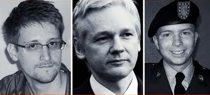 Edward Snowden, Chelsea Manning and Julian Assange: Our New Heroes