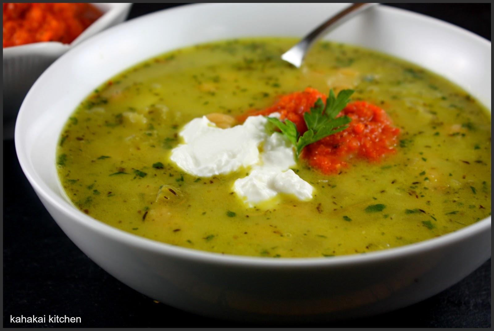 Corn Soup With Harissa Yogurt Recipes — Dishmaps