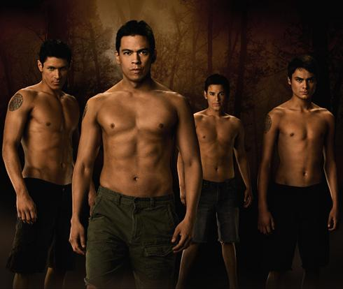 The wolf pack shirtless in The Twilight Saga: New Moon 2009 movieloversreviews.blogspot.com