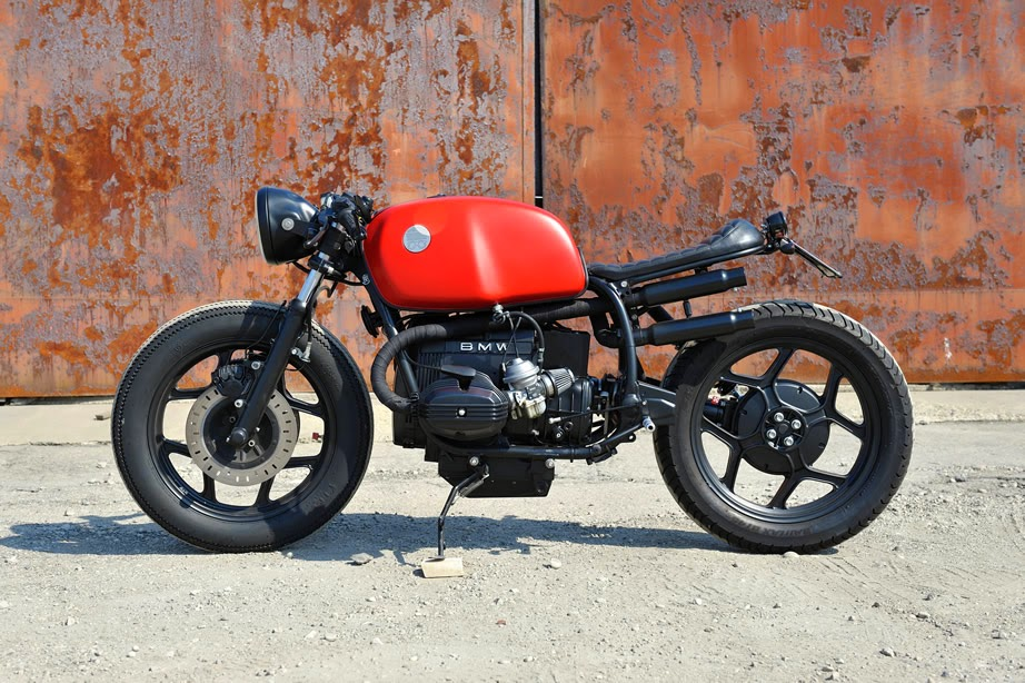 Assez BMW R 65 Red Iron Cafe Racer | 99garage | Cafe Racers Customs  FQ07