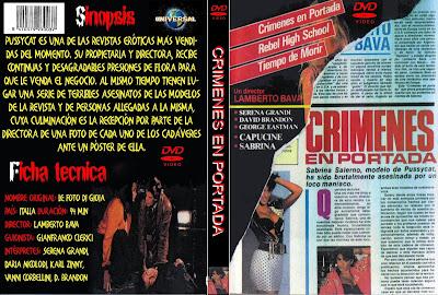 Cover, caratula, dvd:  Crímenes en portada (AKA Asesinato en portada) | 1987 | Le foto di Gioia