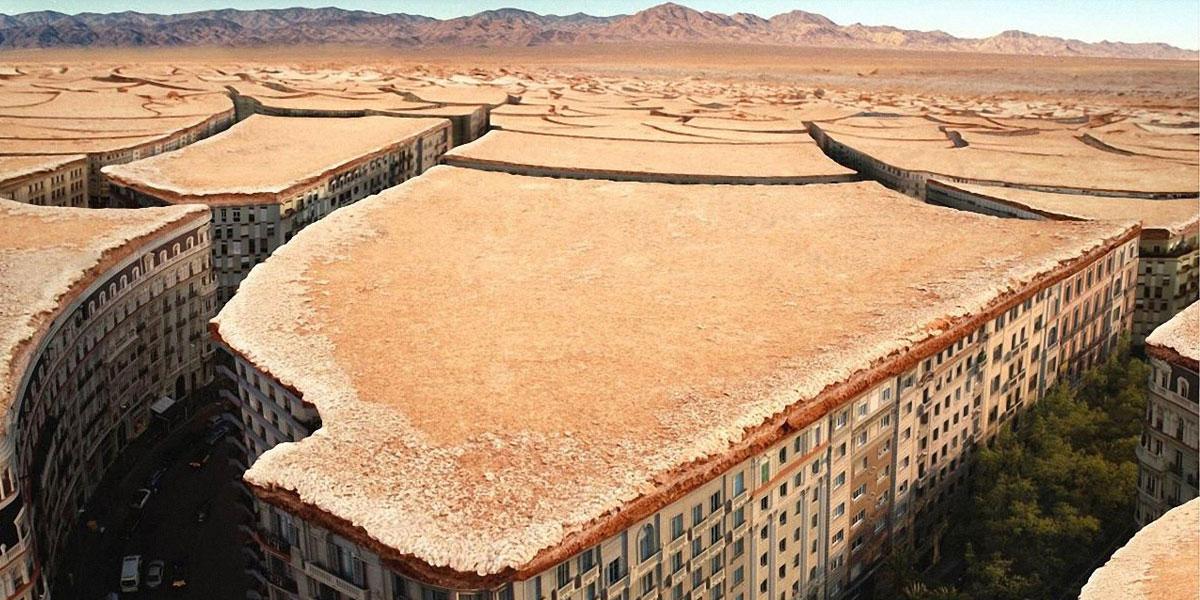 Cityscapes Desert l 300+ Muhteşem HD Twitter Kapak Fotoğrafları