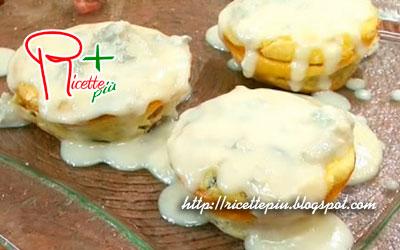 Tortino di funghi con crema di formaggio di Cotto e Mangiato